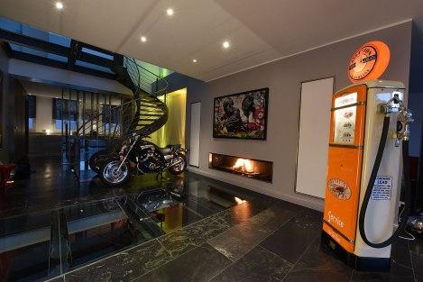 Foyer insert panoramique 250 cm