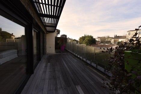 La terrasse de le suite parentale